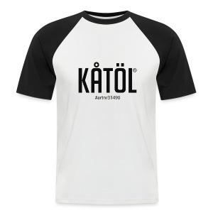 Kåtöl T-Shirt Hashtag - Kortärmad basebolltröja herr