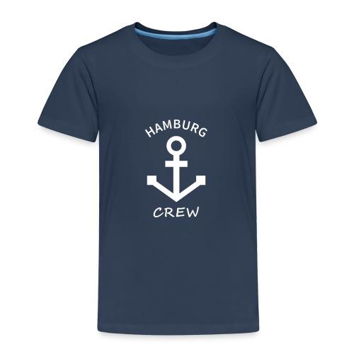 Anker Hamburg Kids Crew navy - Kinder Premium T-Shirt