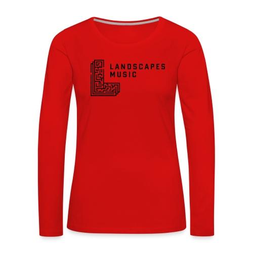Woman Long R/B - Women's Premium Longsleeve Shirt