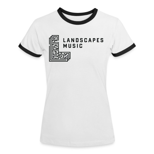 Woman W/B - Women's Ringer T-Shirt