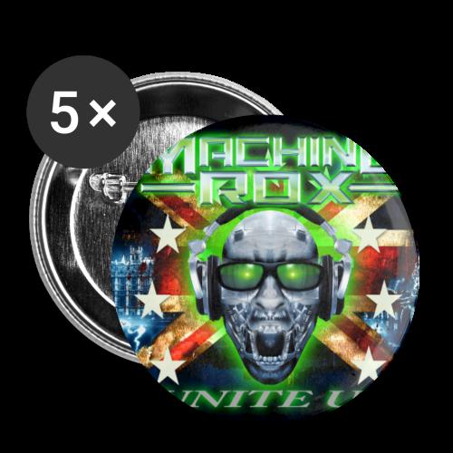MACHINE ROX - Buttons medium 1.26/32 mm (5-pack)