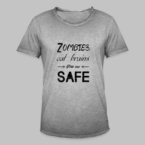 T-shirt homme Eat Brains - Men's Vintage T-Shirt
