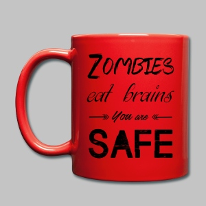 Mug Eat Brains - Full Colour Mug