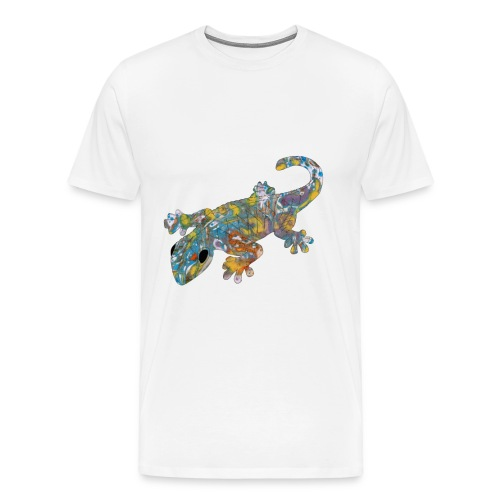 lizard #1 T-Shirts - Men's Premium T-Shirt