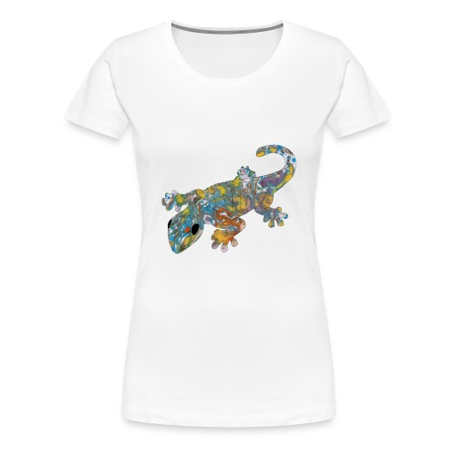 lizard #1 T-Shirts - Women's Premium T-Shirt