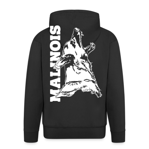 Malinois - Männer Premium Kapuzenjacke