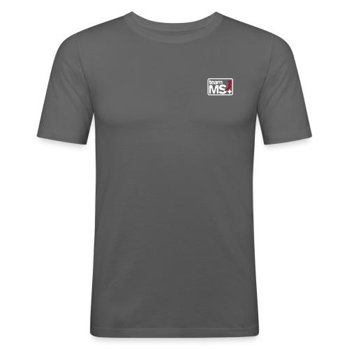 2016 - MS3 Classic-T (SlimFit) Graphite - Männer Slim Fit T-Shirt