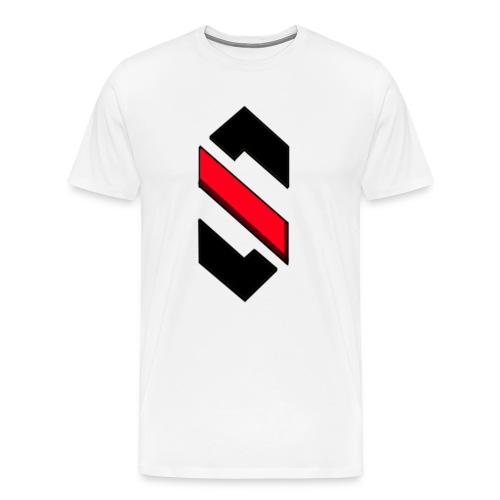 Stort Logo, T-Shirt - Herre premium T-shirt