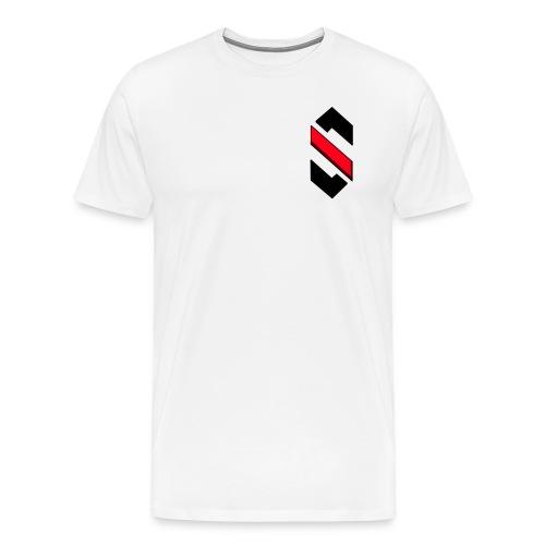 Lille Logo, T-Shirt - Herre premium T-shirt