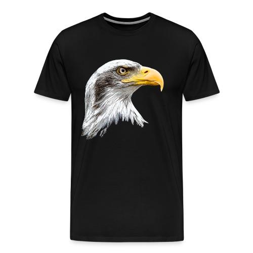 T-shirt Adlerkopf - Männer Premium T-Shirt