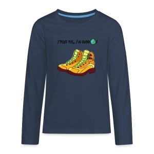 J'peux pas, j'ai rando ! - T-shirt manches longues Premium Ado