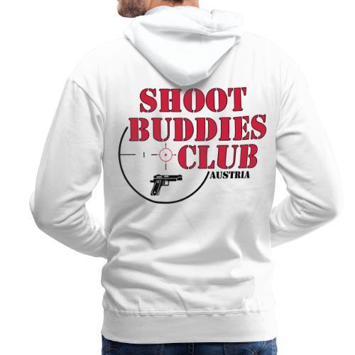 SBCA Hoodie (white) (backprint) - Männer Premium Hoodie
