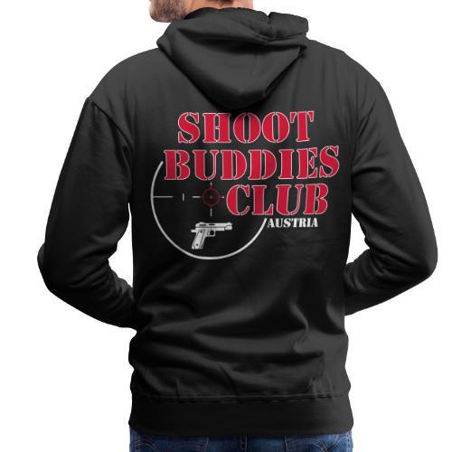 SBCA Hoodie (black) (backprint) - Männer Premium Hoodie