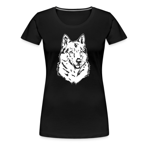 tschechoslowakischer Wolfhund (TWH) - Frauen Premium T-Shirt