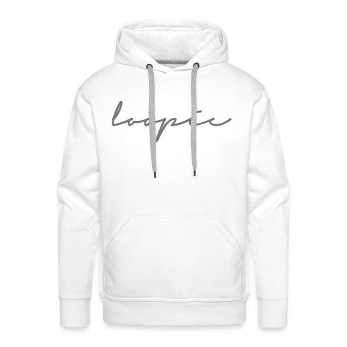 Loopie - Men / Hoodie / GREY - Men's Premium Hoodie