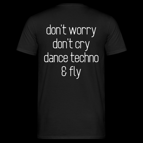 Techno & fly - Men's T-Shirt