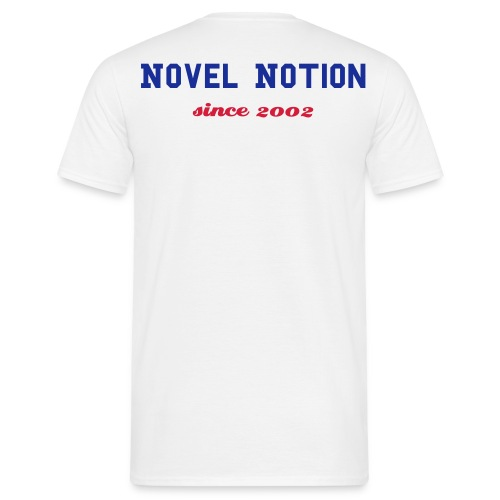 T-Shirt Novel Notion College weiß - Männer T-Shirt