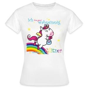 Pegatussi verrückt nach Glitzer - Frauen T-Shirt