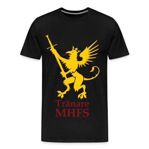Tränartröja herr - Premium-T-shirt herr