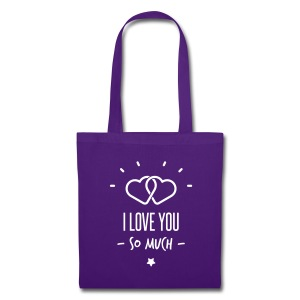 i love you so much  - Tote Bag