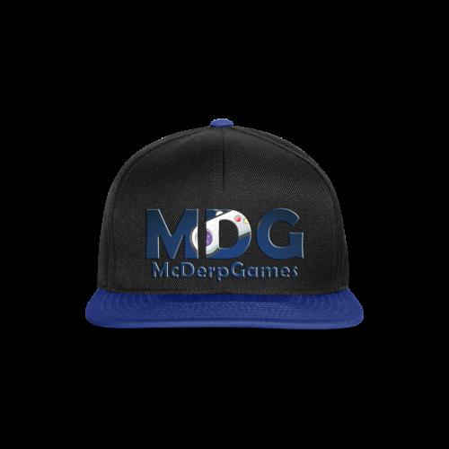 MDG McDerpGames Snapback Cap - Snapback cap