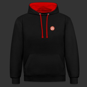 Contrast Colour Hoodie - Contrast Colour Hoodie