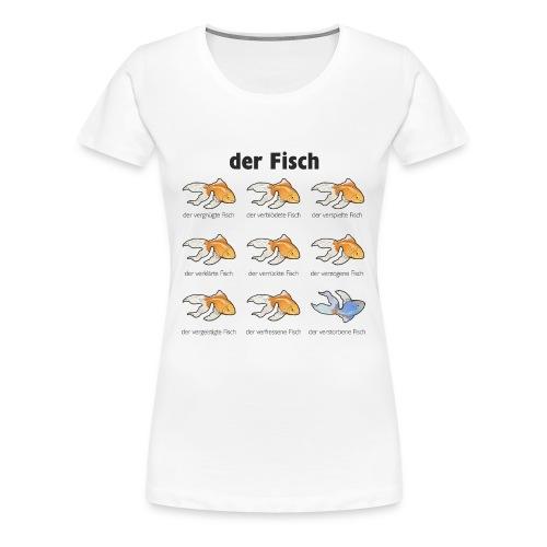 der Goldfisch - Frauen Premium T-Shirt
