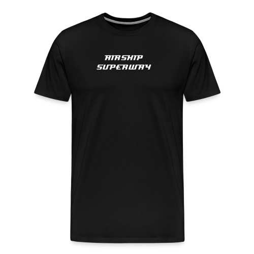 AIRSHIP SUPERWAY MENS' T-SHIRT - Men's Premium T-Shirt