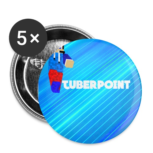 BUTTONS TUBERPOINT - Buttons small 1''/25 mm (5-pack)