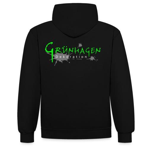 Grünhagen - Hoodie (w) - Kontrast-Hoodie