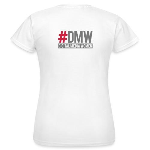 DMW Shirt simple weiß - Frauen T-Shirt