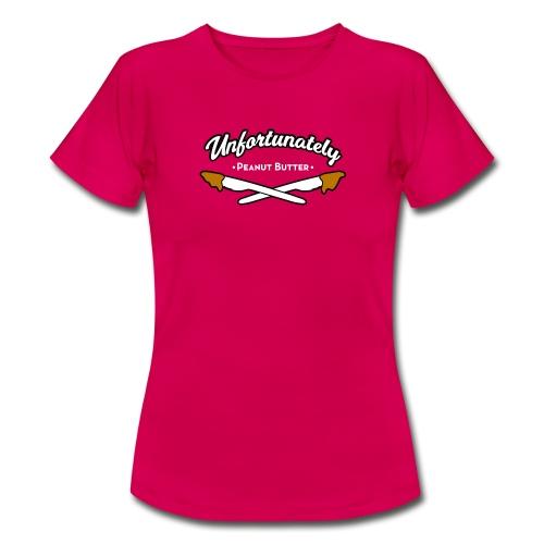 Peanutbutter vrouwen t-shirt - Vrouwen T-shirt