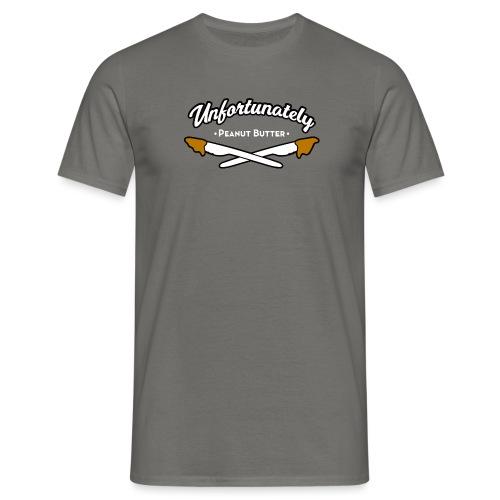 Peanutbutter mannen t-shirt - Mannen T-shirt