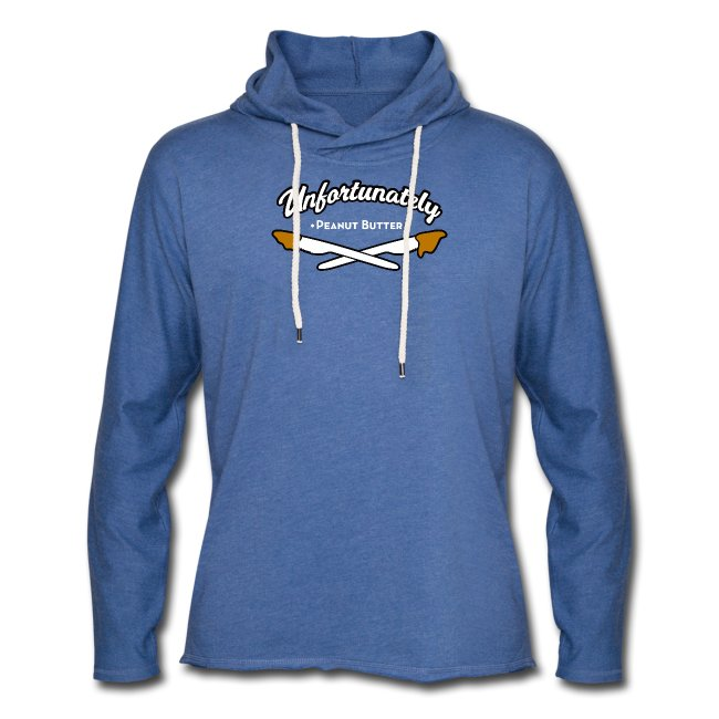 Peanutbutter unisex lichte hoodie