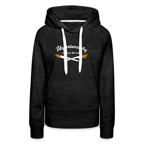 Peanutbutter vrouwen premium hoodie - Vrouwen Premium hoodie