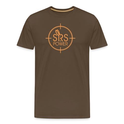 Mens Brown Tee - Men's Premium T-Shirt