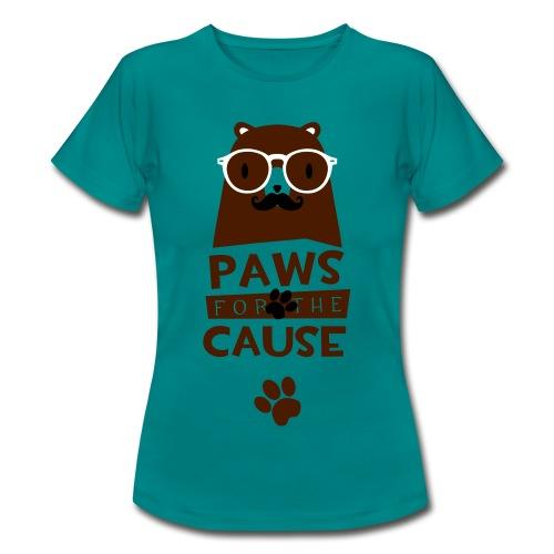 Paws für the Cause - Frauen T-Shirt