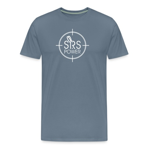Steel Blue Tee - Men's Premium T-Shirt