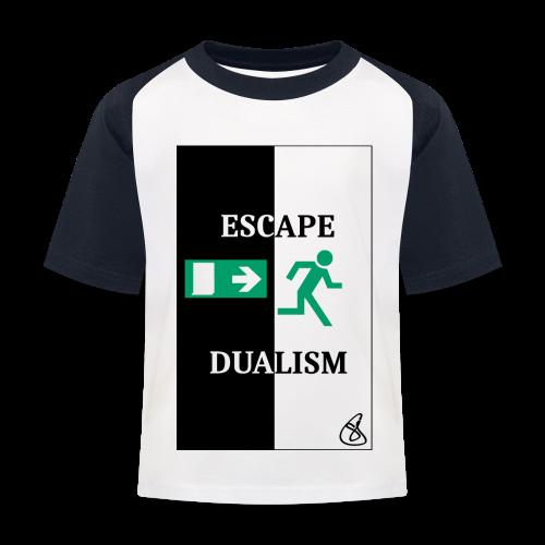 Escape Dualism - Kinder Baseball T-Shirt