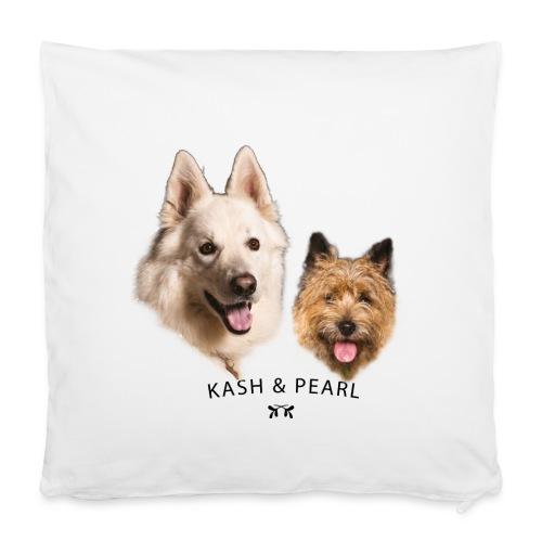 Kash & pearl personnalisé - Housse de coussin 40 x 40 cm
