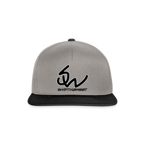 SnapBack (Black-White Logo) - Snapback cap