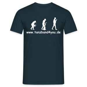 BLACK & WHITE Evolution Edition - Männer T-Shirt