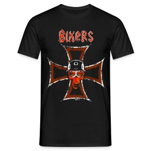 Biker's Cross - T-shirt Homme