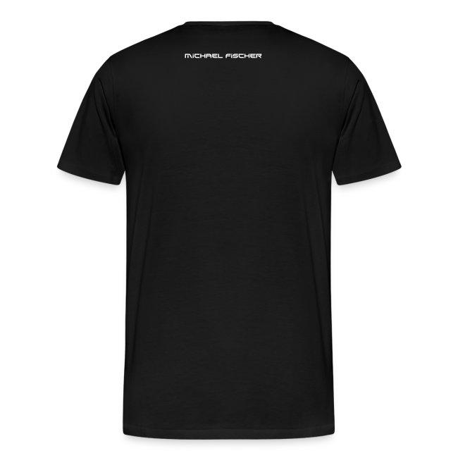MF T-Shirt PREMIUM Men - logo/weiss