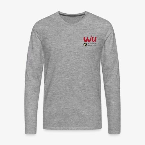 WU Longsleve MEN - Männer Premium Langarmshirt