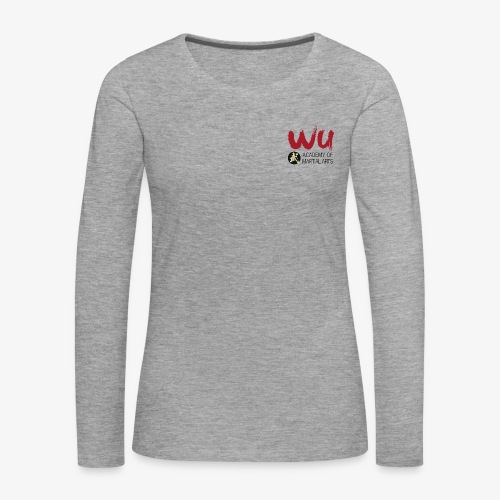 WU Longsleve WOMEN - Frauen Premium Langarmshirt