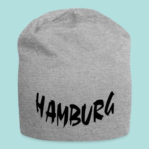 Mütze Grau Hamburg - Jersey-Beanie