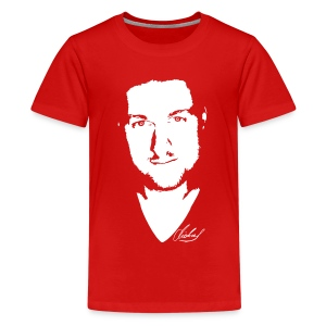 MF T-Shirt STANDARD Jugend - logo/weiss - Teenager Premium T-Shirt