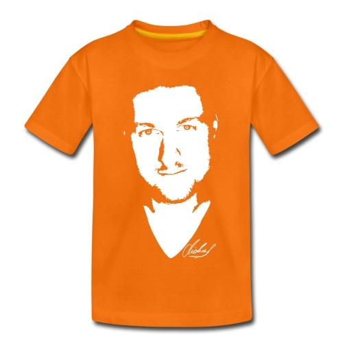 MF T-Shirt STANDARD Kinder - logo/weiss - Kinder Premium T-Shirt