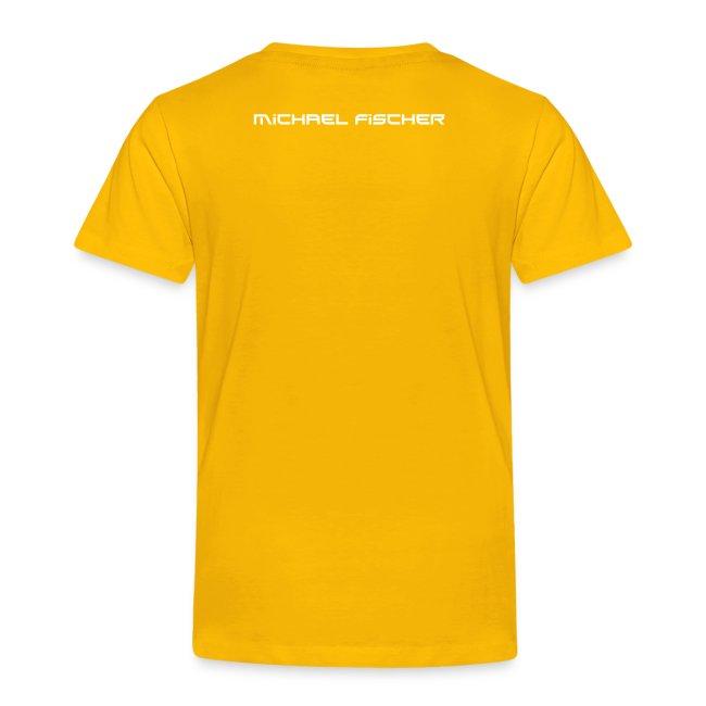 MF T-Shirt STANDARD Kinder - logo/weiss